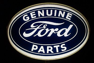 'Genuine Ford Parts' Lighted Sign