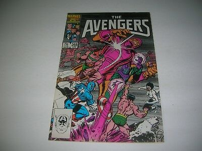 Marvel Comic  -  The Avengers #268  -  June 1986