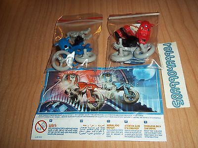 Serie Completa Moto Sd537 - Sd537 A + 2 Bpz India Kinder Joy 2016/2017