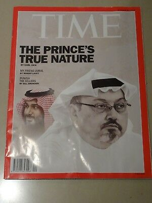 Time Magazine - The Prince's True Nature (October 29, 2018)