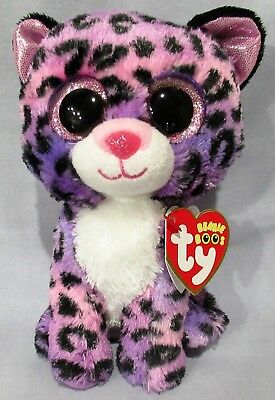 "JEWEL the Leopard - Ty 6 "" Beanie Boos - NEW w/ MINT TAGS  Justice Exclusive"