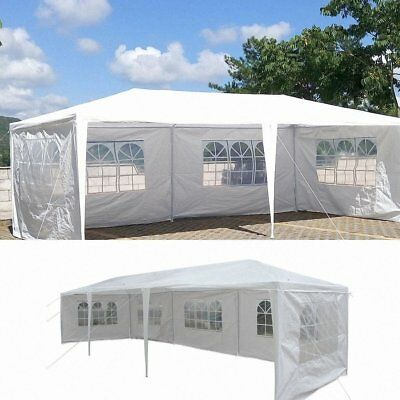 Party Tent Canopy Outdoor Shelter Wedding 10x30 Yard Garden Structures Shade NEW