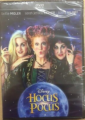 HOCUS POCUS (DVD, 2018, 25th Anniversary Edition) BRAND NEW FREE SHIPPING