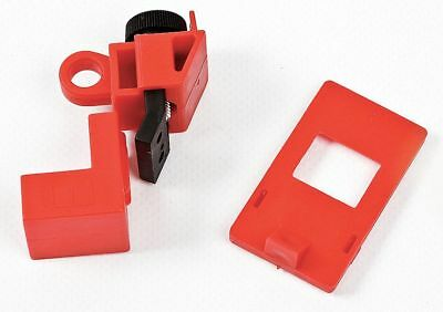 Circuit Breaker Lockout, 120/277, Clamp-On Lockout Type, Polypropylene and Nylon