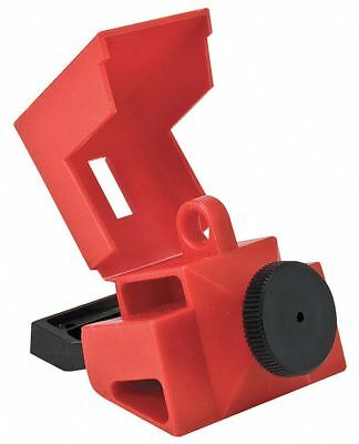 Circuit Breaker Lockout, 480/600, Clamp-On Lockout Type, Polypropylene and Nylon