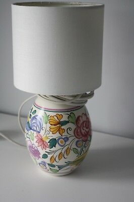 Poole Pottery LE Design Lamp with Shade