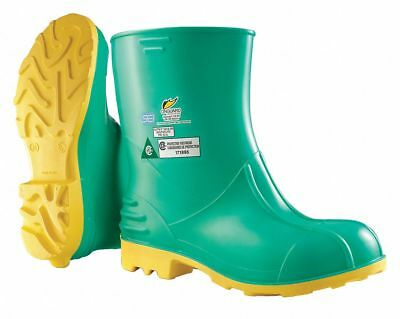 Dunlop Mid-Calf Boots 11 to 12 Green   87015LG33