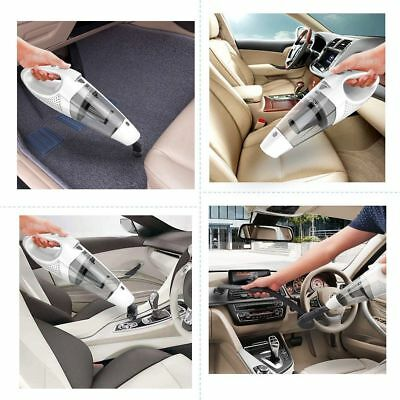 Car Vacuum Cleaner Portable Vac 12V Auto Mini Hand Held Wet Dry Dust Small