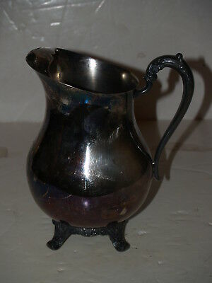 Silverplate FB Rogers Silver Co 3707 Water Pitcher