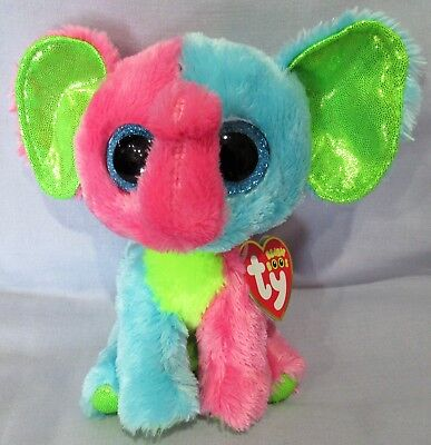 """Justice Exclusive Ty 6 /"""" Beanie Boos  NEW with MINT TAGS DARCI the Giraffe"""