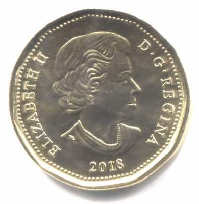2018 Canadian Loonie One Dollar Uncirculated Coin - Canada - Duck - First Strike