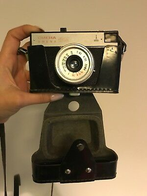 Lomo Smena 8M Triplet-43 4/40 35mm Compact Film Camera Vintage Retro SSSR Made