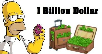 Simpsons Tapped out - 1 Billion Dollar
