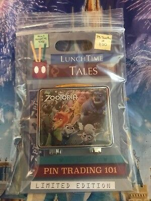 Disney Pin of the Month Lunch Time Tales Zootopia