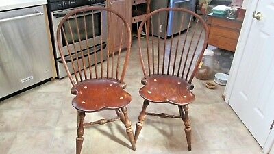 Set of 2 D R Dimes Windsor Chairs