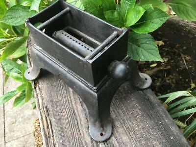 Antique Cast Iron Camp Gas Stove Vintage Gas single Camping Stove
