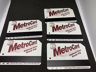 10 Rides Worth $55 Selling For $40 The Real Deal Great Savings NEW Metro Cards