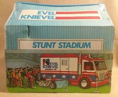 Evel Knievel Stunt Stadium by Ideal Toys 1974