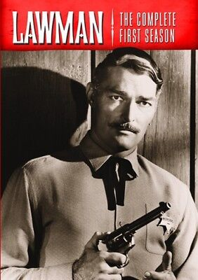 LAWMAN COMPLETE FIRST SEASON 1 New 5 DVD Set John Russell
