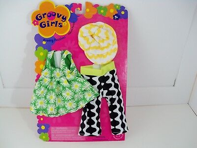 Groovy Girls Pattern Pizzazz Groovy Fashions Clothes New on Card NOC