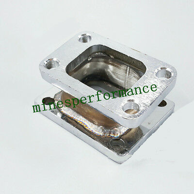 T3 to T4 Stainless Steel Turbo Manifold Flange Adapter FOR T3/T4 GT35 T04B T04