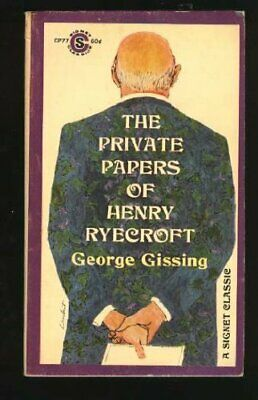 The Private Papers of Henry Ryecroft by Gissing, George Paperback Book The Cheap