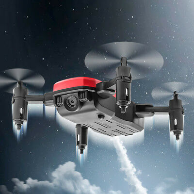 Mini D2WH Foldable Wifi FPV HD Camera 2.4Ghz RC Aircraft Drone Xmas Gifts Toys