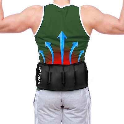 Ice Pack Packs Reusable Gel Hot / Cold Therapy Heat Pad Pads Sciatica Nerve Pain
