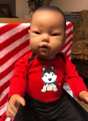 aa95222c956 RealityWorks RealCare Baby II 2 Plus Baby Think It Over BTIO RARE Asian Male