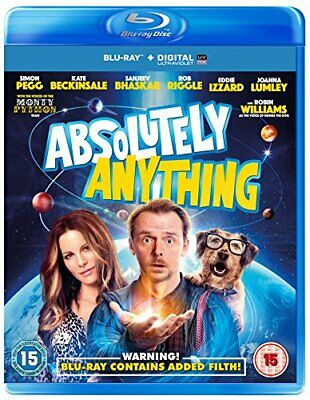 Absolutely Anything [Blu-ray] - DVD  3KVG The Cheap Fast Free Post