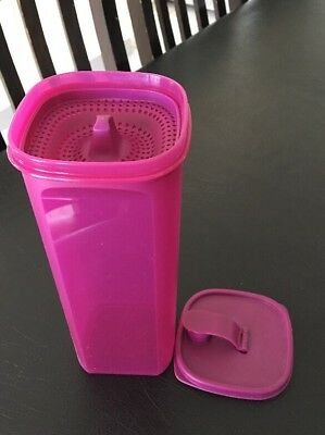 Tupperware 2 Litre Bottle Jug Pitcher With Strainer