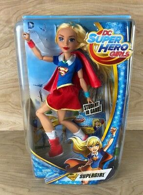 "DC Super Hero Girls Supergirl 12"" Action Figure Doll Super Girl Toy NEW"
