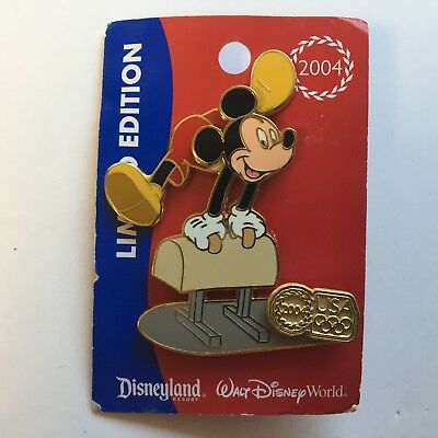 WDW USA Olympic Logo Pommel Horse Mickey Mouse Disney Pin 31261