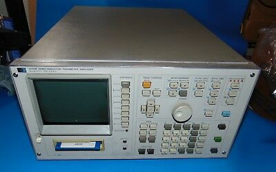 Hp Agilent Keysight 4145B Semiconductor Parameter Analyzer