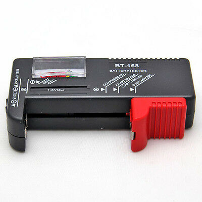 Convenient Universal Battery Tester Tool AA AAA C D 9V Button Checker Accessory