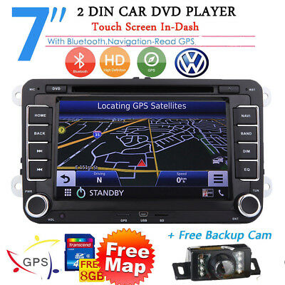 AUTORADIO Navigatore Gps SEAT ALTEA LEON VW GOLF 5 6 Bluetooth Car Stereo DVD HD