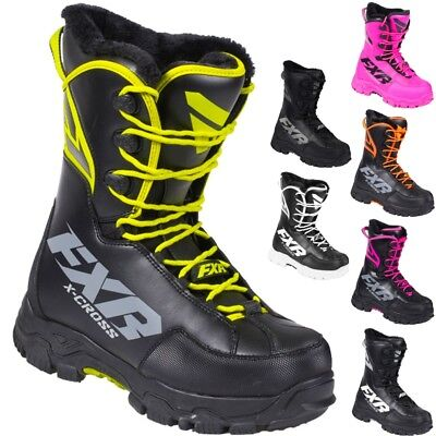 FXR Racing F19 X-Cross Speed Mens Winter Sports Skiing Snowmobile Boots