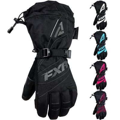 FXR Racing F19 Fusion Womens Winter Sports Skiing Glove Snowmobile Gloves