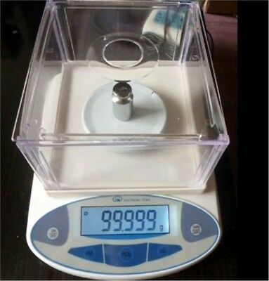 500G/0.001G Lab Analytical Digital Balance Scale New ob