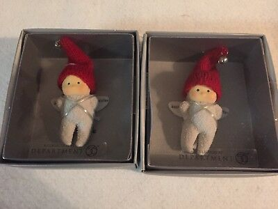 Dept 56 Best Sister Snowbaby Angel Ornament