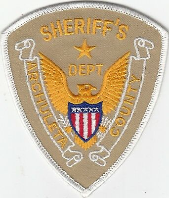 Archuleta County Sheriff's Department Colorado Co Police Patch