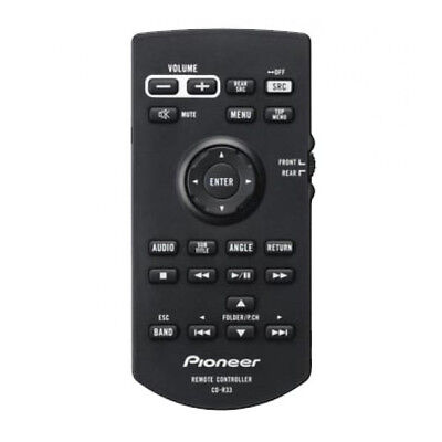 Remote Control Audio Stereo Sound Automotive Car Replacement - Pioneer CD-R33