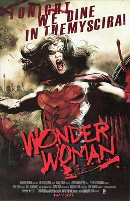 Wonder Woman #40 New 52 Movie Poster VARIANT | VF/NM | Justice League | DC