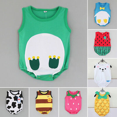 Infant Romper Bodysuit Soft Newborn Lovely Suit Printed Outfit Baby 2018 Sale