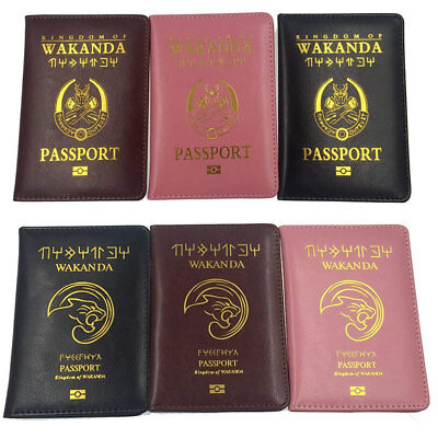 Passport Cover Holder Case Accessories Travel Id Marvel Holders Card Wallet New