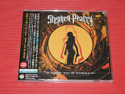 2018 Japan Cd Stephen Pearcy View To A Thrill  With Bonus Track