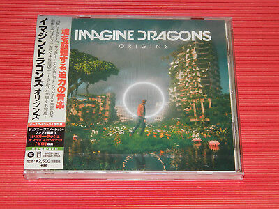 2018 Japan Cd Imagine Dragons Origins  With Bonus Tracks
