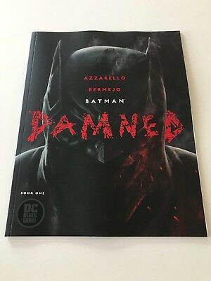 Batman Damned #1 Lee Bermejo Cover A 1st Print Controversial Uncensored Nude NM