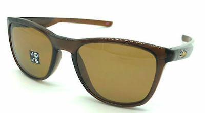 a48468fc21 NEW Oakley OO9340-21 Trillbe X Polished Rootbeer Brnze POLARIZED Sunglasses  52mm
