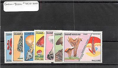 Lot of 75 Guinea-Bissau MNH & MH Mint Hinged Stamps #101988 X R